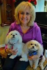 Susan, Bella and Wilson post surgery